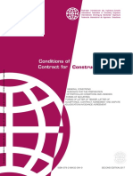 FIDIC CONSTRUCTION CONTRACT 2ND ED (2017 RED BOOK)