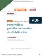 Desarrollo y Gestion de Canales de Distribucion