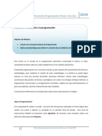 Modulo 1 - Nivelacion Programacion Cliente Servidor