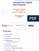 Risk Assessment for Capital Construction Projects Seattle