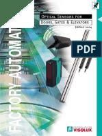 Optical Door Sensors