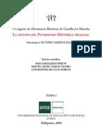 La gestión del Patrimonio Histórico regional (Castillo de Caudete)
