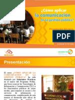 Curso Comunicacion Funcionarios Publicos Soluciones Practicas