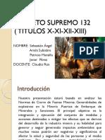 presentacion decreto 132