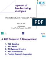 Wook-Ho Son_Development of Virtual Manufacturing Technology