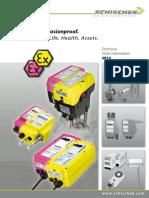 Brochure ATEX Schischek Products Ex Proof Info en Najvaznije
