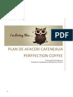 Plan de Afaceri Perffection Coffee