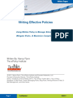 Prevalent WritingEffectivePolicy WPf