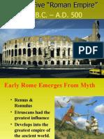 2010 Chapter 5 Roman Empire Part I