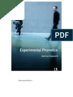 Experimental Phonetics