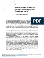 A. Dunn, The Exploitation and Control of Woodland and Scrubland in the Byzantine World