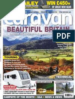 Caravan magazine truePDF December 2018 | Canterbury | Leisure