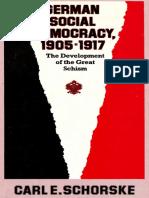 German Social Democracy - Schorske