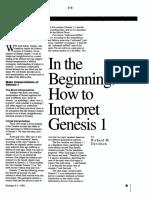 In the Beginning - How to Interprate Genesis 1 (Richard M. Davidson)