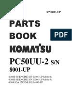 Demo Parts Book Pc50uu-2