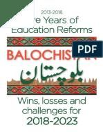 Balochistan Education Report 18