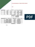 Analisis de Rigidez Por Seccion Transformada y Corecion Por Torsion
