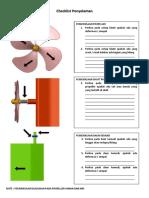 Checklist Pemeriksaan Propeller