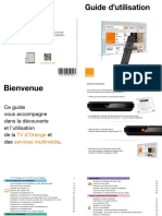 Guide Utilisation Orange