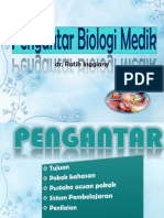 Pengantar Biologi Medik