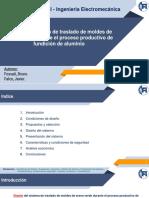Trabajo Final - Sistema transporte proceso de fundición