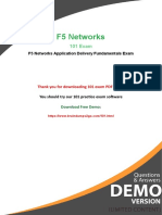 Buy Valid F5 Networks 101 Exam Dumps And Get 20% Discount - Christmas Offer 2018