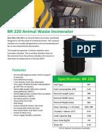 BR 220 Animal Waste Incinerator-n