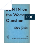 Lenin on the woman question