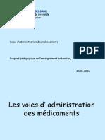 Les Voies d' Administration Des Médicaments6
