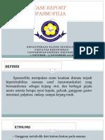CASE REPORT Spasmofilia Fix