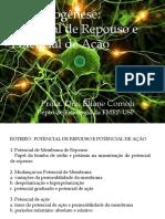 Bioeletrogênese_Potencial de Membrana e Potencial de Ação-EC2017