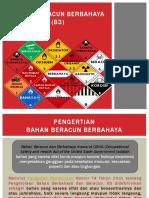 1. Bahan Beracun Berbahaya (b3)