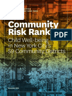 CCC Community Risk Ranking December 2018