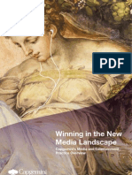 Winning in the New Media Landscape - Capgemini's Media and Entertainment Practice Overview