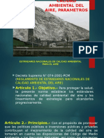 9. Calidad Ambiental Del Aire, Parametros