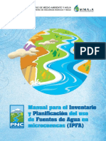 Fuentes Agua Microcuencas