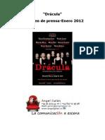Dossier Prensa Dracula