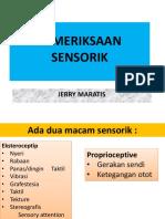 03. FFN225 (Pemeriksaan Sensorik)