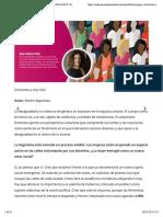 CUERPO Y TERRITORIO. ENTREVISTA A ANA FALÚ | Nueva Revista Socialista