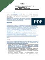 B15 Maintenimiento VisionMision Estrategia (Español) Rev A