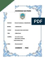 Politica Fiscal en El Peru