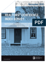 2018 11 Realtors Confidence Index 12-19-2018