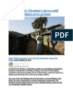 Special Report  Myanmar's moves could mean the Rohingya never go home.docx