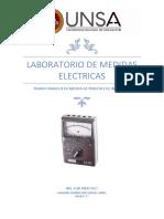 LABORATORIO DE TRANSFORMADORES DE MEDIDA
