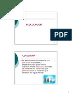 3-Clase 03 Floculación