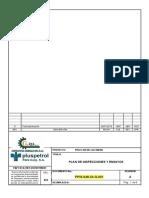 Ppis 548 Qi q 001 Plan de Inspeccion y Ensayos
