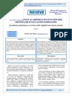El rendimiento academico en funcion del sistema de evaluacion empleado.pdf