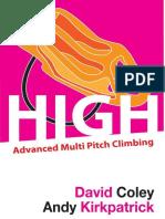 High - Advanced Multipitch Climbing