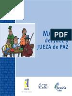 Manual Del Juez y Jueza de Paz
