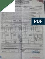 Certificado de Inspección Tecnica Vehiculas - H2D-964